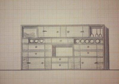 Une idée pour un meuble de type buffet