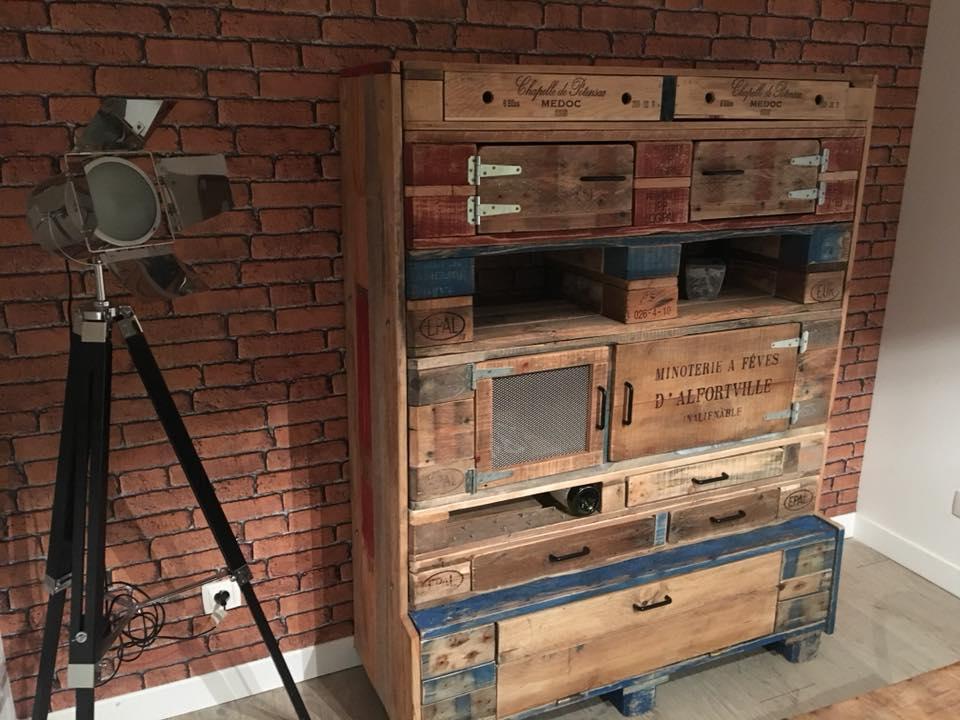 Buffet haut 7 modules