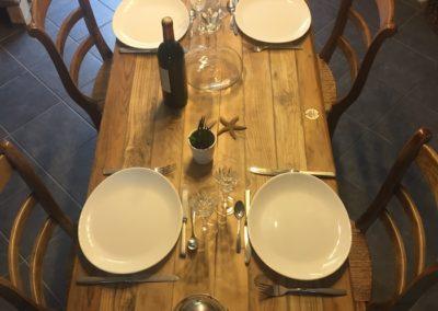 table éco responsable cirée