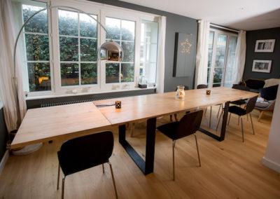table eco responsable avec rallonge mise, 2