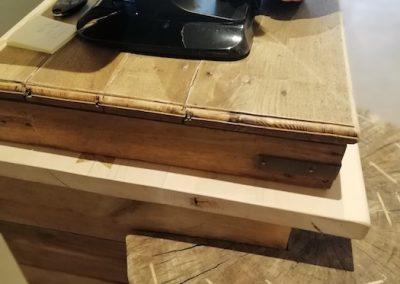 meuble caisse,détail