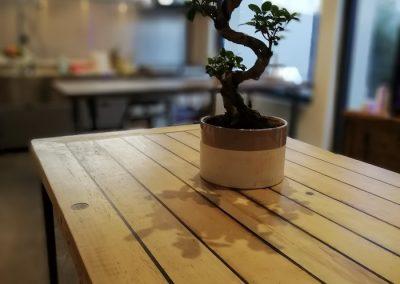 Table en orme