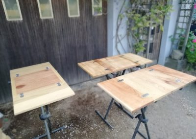 plateau de table de camping car presentation