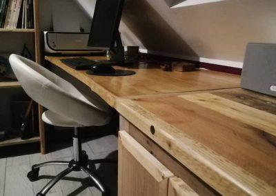 bureau sous comble,détail