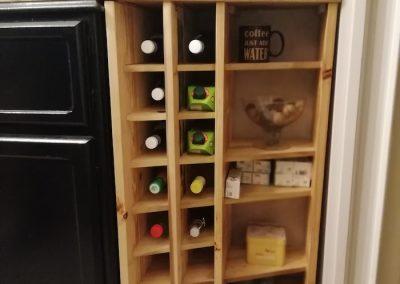 Meuble range bouteille
