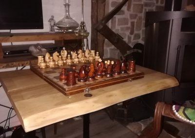 petite table bistrot, table de jeu