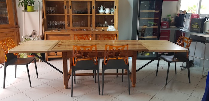 Rallonges de table sur-mesure
